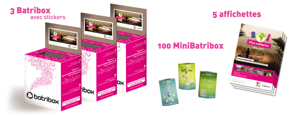 Kit de collecte Batribox