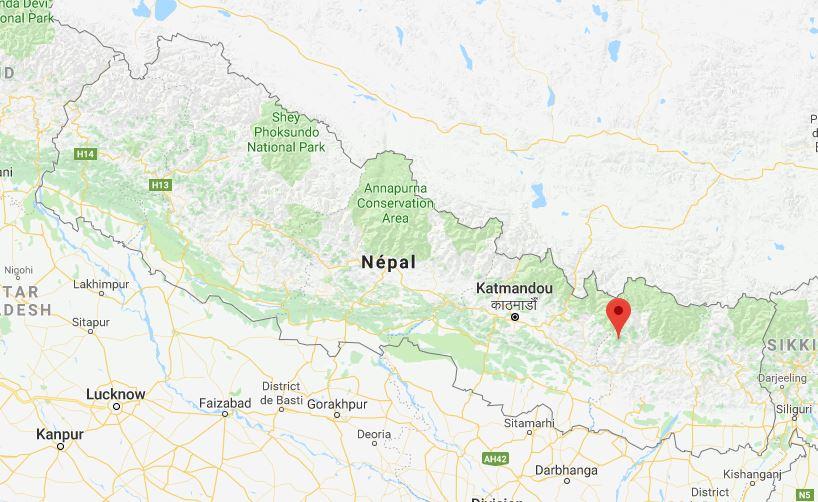 Localisation Tapting, Népal