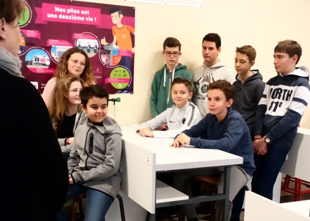 Tournage Collège Gérard de Nerval : interview des élèves